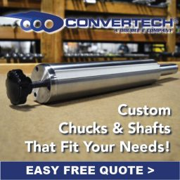 Convertech Chucks and Shafts Manufacturer